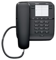 Телефон проводной Gigaset DA310 черный