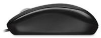 Мышь Microsoft Basic черный оптическая (1000dpi) USB (2but)