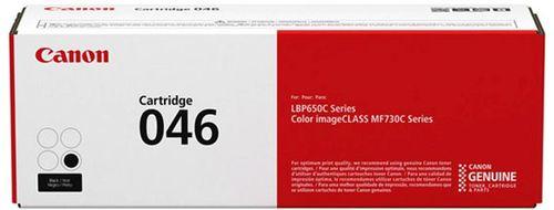 Тонер Картридж Canon 046 BK 1250C002 черный (2200стр.) для Canon i-SENSYS LBP650/MF730