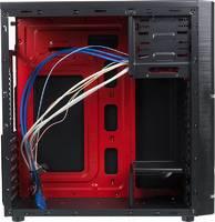 Корпус Accord ACC-B301 черный без БП ATX 3x120mm 2xUSB2.0 2xUSB3.0 audio