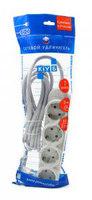 Сетевой удлинитель Powercube PC-Y-5-43-3 3м (7 розеток) серый (пакет ПЭ)
