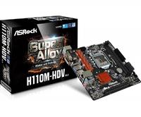 Материнская плата Asrock H110M-HDV R3.0 Soc-1151 Intel H110 2xDDR4 mATX AC`97 8ch(7.1) GbLAN+VGA+DVI+HDMI