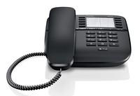Телефон проводной Gigaset DA510 черный