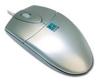 Мышь A4 OP-720 серебристый оптическая (800dpi) PS/2 (2but)
