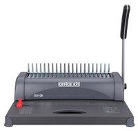 Переплетчик Office Kit B2108 A4/перф.8л.сшив/макс.350л./пластик.пруж. (6-38мм)