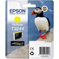 Картридж струйный Epson T3244 C13T32444010 желтый (14мл) для Epson SureColor SC-P400