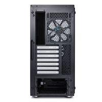 Корпус Fractal Design Define C TG черный без БП ATX 5x120mm 4x140mm 2xUSB3.0 audio bott PSU