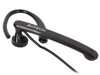 Наушники с микрофоном A4 S-7-1 черный 2м вкладыши в ушной раковине