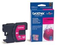 Картридж струйный Brother LC980M пурпурный для Brother DCP-145C/165C/MFC-250C (260стр.)