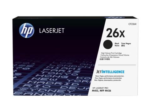 Тонер Картридж HP 26X CF226X черный (9000стр.) для HP LJ Pro M402/M426