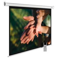 Экран Cactus 280x280см MotoExpert CS-PSME-280x280-WT 1:1 настенно-потолочный рулонный белый (моторизованный привод)