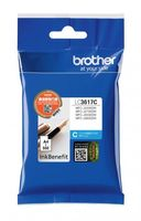 Картридж струйный Brother LC3617C голубой (550стр.) для Brother MFC-J3530DW/J3930DW