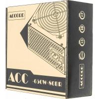 Блок питания Accord ATX 650W ACC-650W-80BR 80+ bronze (24+4+4pin) 120mm fan 6xSATA RTL