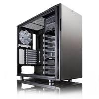 Корпус Fractal Design Define R5 Titanium черный/серебристый без БП ATX 9x120mm 9x140mm 2xUSB2.0 2xUSB3.0 audio front door bott PSU