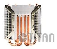 Устройство охлаждения(кулер) Titan TTC-NC25TZ/PW(RB) Soc-FM2+/AM2+/AM3+/1150/1151/1155/ 4-pin 14-35dB Al+Cu 130W Ret