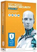 ПО Eset NOD32 Smart Security Family 5-Desktop 1 year Box (NOD32-ESM-NS(BOX)-1-5)