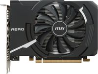 Видеокарта MSI PCI-E Radeon RX 550 AERO ITX 2G OC AMD Radeon RX 550 2048Mb 128bit GDDR5 1203/7000 DVIx1/HDMIx1/DPx1/HDCP Ret
