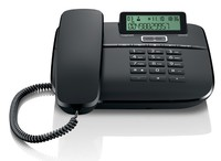 Телефон проводной Gigaset DA610 черный