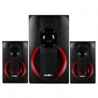 Колонки Sven MS-304 2.1 черный/красный 40Вт