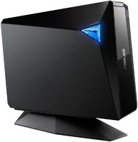 Привод Blu-Ray RE Asus BW-16D1H-U PRO/BLK/G/AS черный USB3.0 внешний RTL