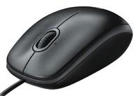 Мышь Logitech B100 черный оптическая (800dpi) USB (2but)