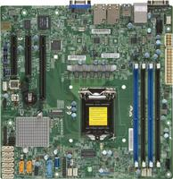 Материнская Плата SuperMicro MBD-X11SSH-F-B Soc-1151 iC236 mATX 4xDDR4 8xSATA3 SATA RAID i210AT 2хGgbEth bulk