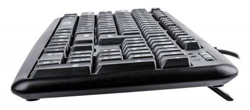 Клавиатура Oklick 180M черный PS/2