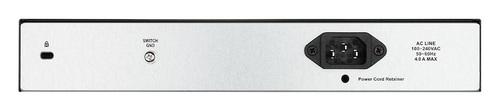 Коммутатор D-Link DGS-1100-10MPP 8G 2SFP 8PoE управляемый