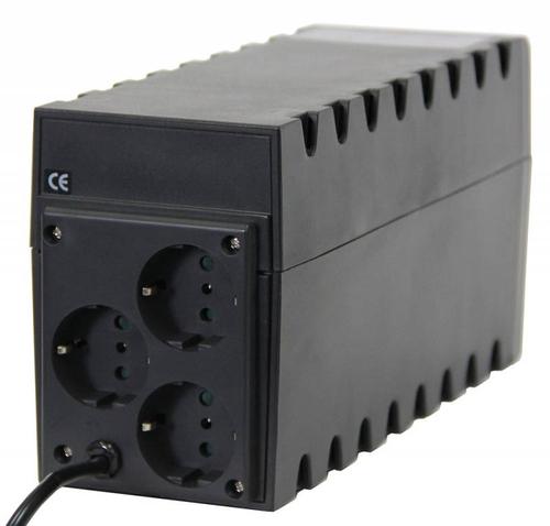 Источник бесперебойного питания Powercom Raptor RPT-1000A EURO 600Вт 1000ВА черный