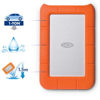 "Жесткий диск Lacie USB 3.0 1Tb LAC301558 Rugged Mini (5400rpm) 2.5"" оранжевый"