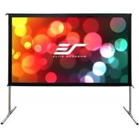 Экран на раме Elite Screens 125x222см Yard Master OMS100H2-DUAL 16:9 настенно-потолочный натяжной