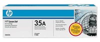 Тонер Картридж HP 35A CB435A черный (1500стр.) для HP LJ P1005/P1006