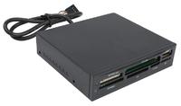 Устройство чтения карт памяти USB2.0 Acorp CRIP200-B черный