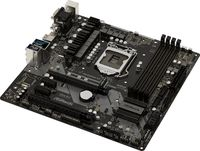 Материнская плата Asrock Z370M PRO4 Soc-1151v2 Intel Z370 4xDDR4 mATX AC`97 8ch(7.1) GbLAN RAID+VGA+DVI+HDMI