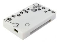 Устройство чтения карт памяти USB2.0 PC Pet CR-215DWH белый