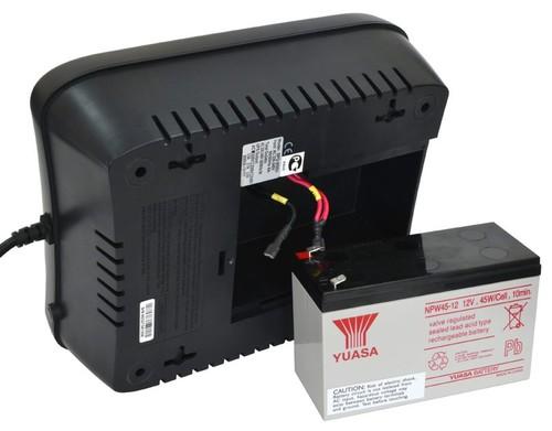 Источник бесперебойного питания Powercom SPD-1000U 550Вт 1000ВА черный