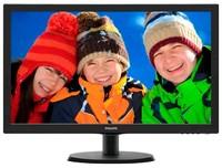 "Монитор Philips 21.5"" 223V5LHSB2 (00/01) черный TFT LED 5ms 16:9 HDMI матовая 600:1 200cd 1920x1080 D-Sub FHD 2.61кг"