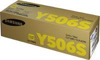 Тонер Картридж SAMSUNG CLT-Y506S SU526A желтый (1500стр.) для Samsung CLP-680/CLX-6260