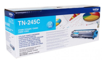 Тонер Картридж Brother TN245C голубой (2200стр.) для Brother HL3140/3150/3170/DCP9020/MFC9140/9330/9340