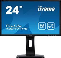 "Монитор Iiyama 23.6"" XB2474HS-B1 черный VA LED 4ms 16:9 HDMI M/M матовая HAS Pivot 250cd 178гр/178гр 1920x1080 D-Sub DisplayPort FHD"