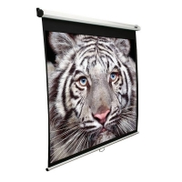 Экран Elite Screens 124.5x221см Manual M100XWH 16:9 настенно-потолочный рулонный белый