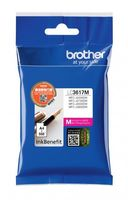 Картридж струйный Brother LC3617M пурпурный (550стр.) для Brother MFC-J3530DW/J3930DW