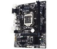 Материнская плата Gigabyte GA-H110M-S2H Soc-1151 Intel H110 2xDDR4 mATX AC`97 8ch(7.1) GbLAN+VGA+DVI+HDMI