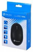 Мышь Oklick 105S черный оптическая (800dpi) USB для ноутбука (2but)