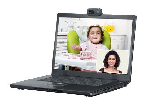 Камера Web Logitech HD Webcam C270 черный USB2.0 с микрофоном