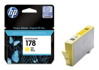 Картридж струйный HP №178 CB320HE желтый (300стр.) для HP C5383/C6383/B8553/D5463