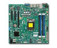 Материнская Плата SuperMicro MBD-X10SLL-F-O Soc-1150 iC222 mATX 4xDDR3 4xSATAII 2xSATA3 SATA RAID i210AT/i217LM 2хGgbEth Ret