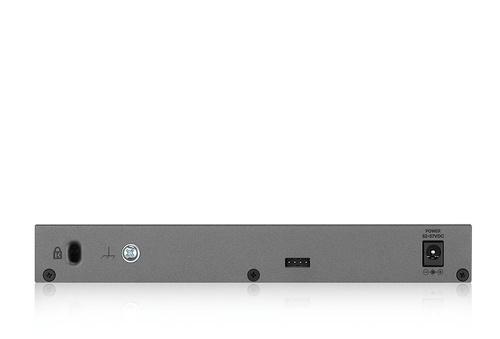 Коммутатор Zyxel GS1350-6HP-EU0101F 5G 1SFP 5PoE+ 60W управляемый