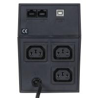 Источник бесперебойного питания Powercom Raptor RPT-800AP 480Вт 800ВА черный