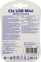 Флеш Диск Verbatim 16Gb Mini Cassette Edition 49399 USB2.0 желтый/рисунок